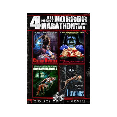 All Night Horror Movie Marathon Volume 2 (DVD) - Halloween Horror Nights Coupons
