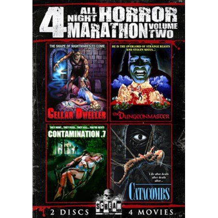 All Night Horror Movie Marathon Volume 2 (DVD) - Halloween Horror Nights Pics