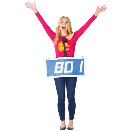 The Price Is Right Contestant Row Neutral Adult Halloween Costume - Price Is Right Halloween 2017
