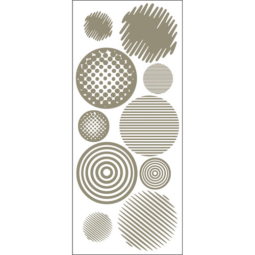 Blue Mountain Wallcoverings Going In Circles Snap Wall Art