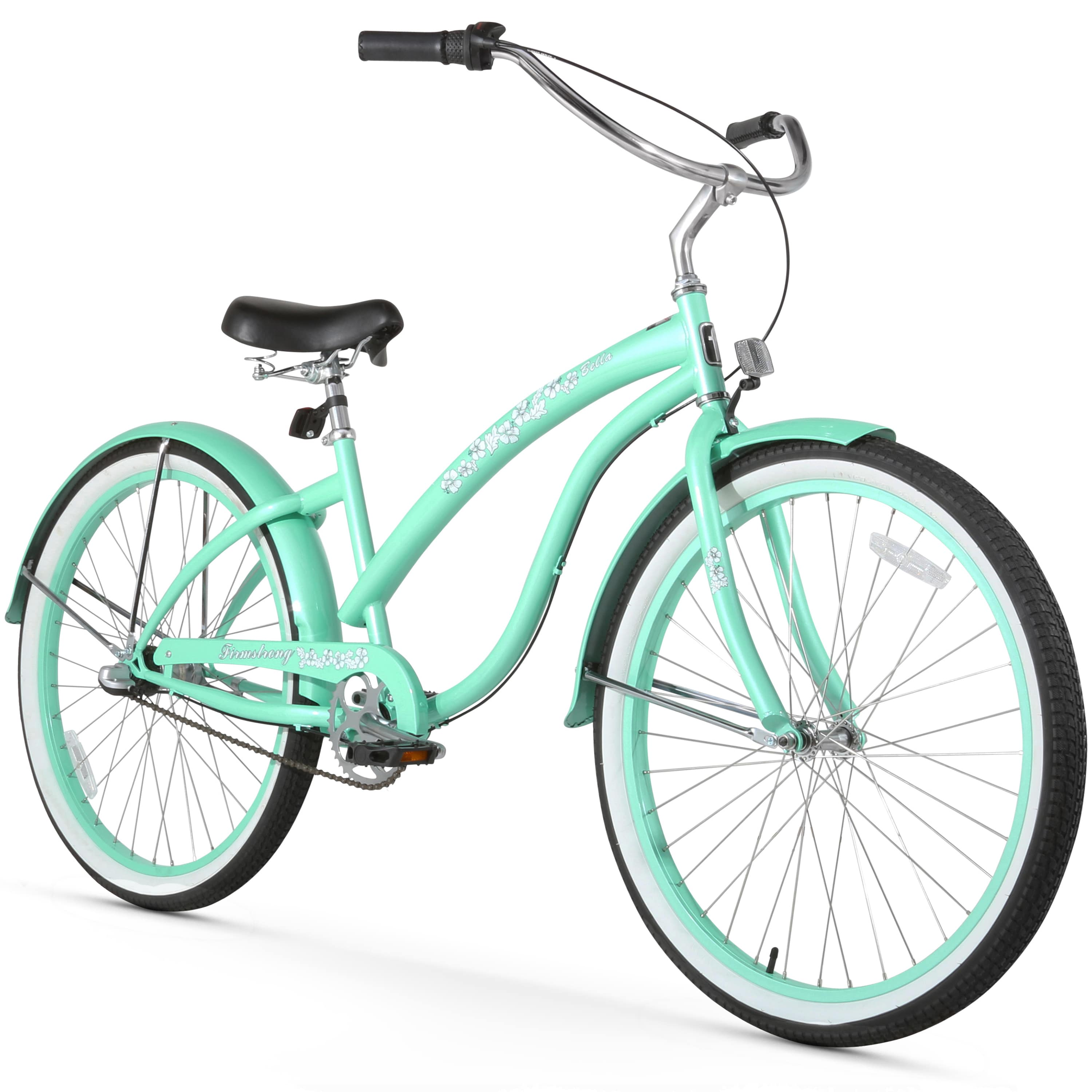 "Firmstrong Bella Classic, 26"", Women's, Three Speed, Mint Green"