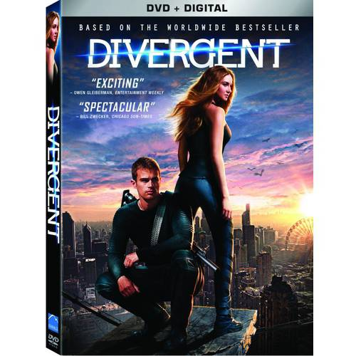 Divergent (DVD + Digital Copy) (With INSTAWATCH) (Widescreen)