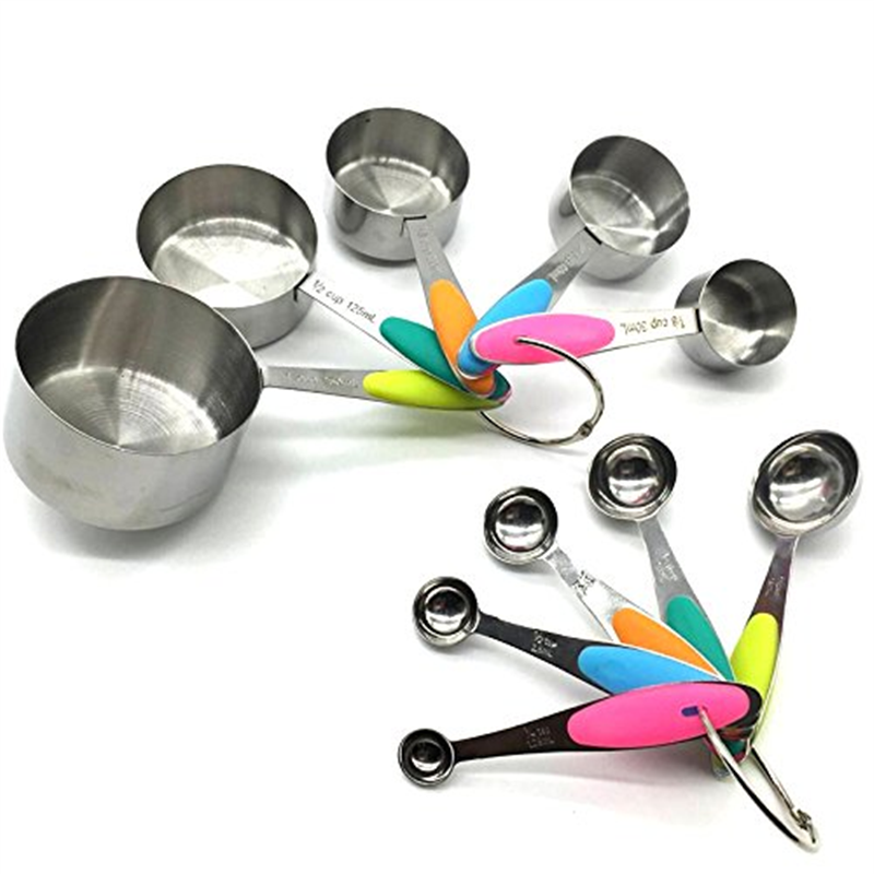 Stainless Steel Measuring Cups Best For Measuring Coffee Whole