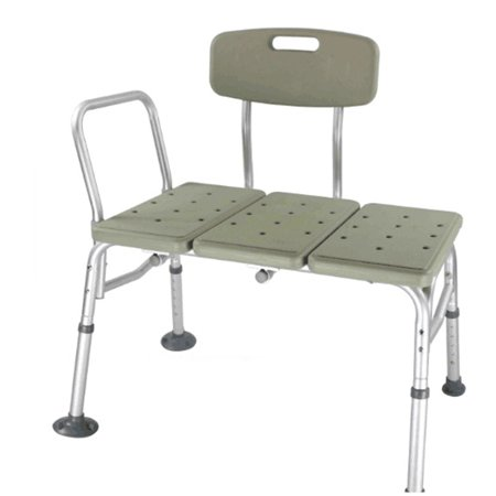 Transfer Aid (Zimtown Bath & Shower Transfer Bench - Adjustable Handicap Shower Chair - Medical Bathroom Accessibility Aid for Elderly, Disabled, Seniors & Bariatric)