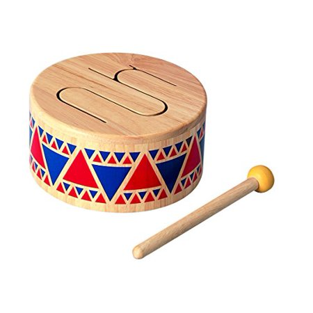 Plan Toy Solid Wood Drum - image 1 of 1