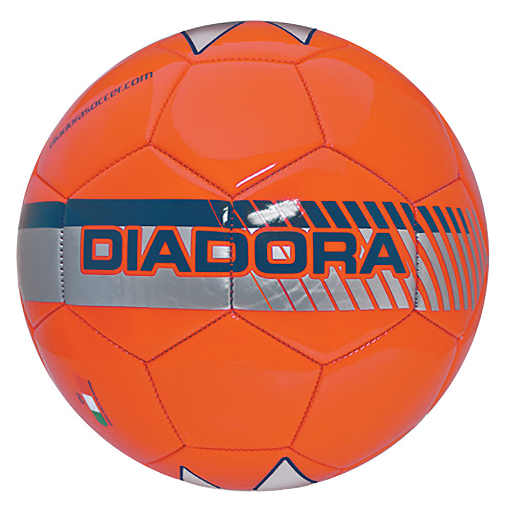 Diadora Unisex Fulmine Comfort Soccer Ball YELLOW 3''