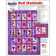 ScrapSMART Red HATtitude Quilt and Pillow: Vintage Designs and Patterns on CD-ROM