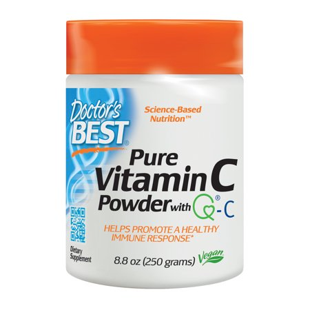 Doctor's Best Vitamin C with Quali-C, Non-GMO, Gluten Free, Vegan, Soy Free, Sourced From Scotland, 250