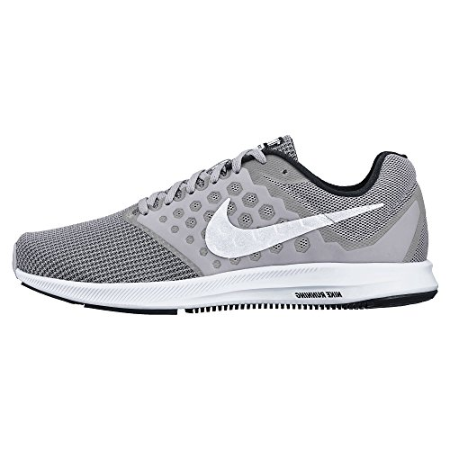 Plano eso es todo Lobo con piel de cordero  Nike - Men's Nike Downshifter 7 Running Shoe Wolf Grey/White/Black Size 12  M US - Walmart.com - Walmart.com