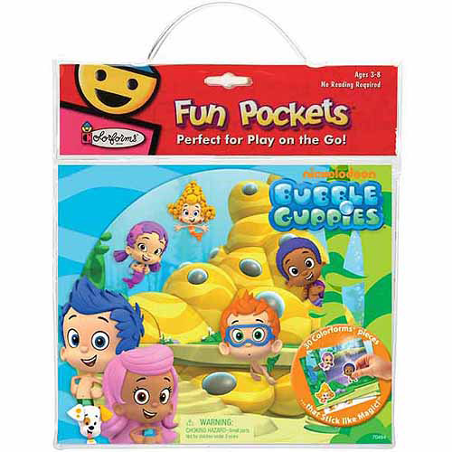Bubble Guppies Colorforms Fun Pocket