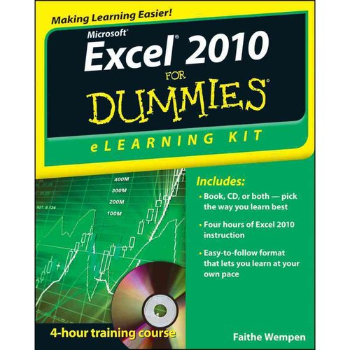 Microsoft Excel 2010 eLearning Kit  For Dummies
