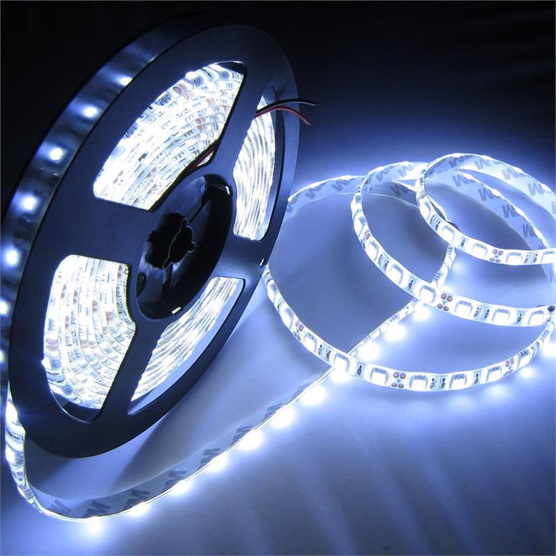 Efavormart Wholesale 5M Long 300 White LED Waterproof Strip Light 5050 SMD