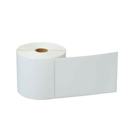 GREENCYCLE 1 Roll (500 Labels/Roll) Compatible Direct Thermal Paper Label 4 x 6 inch 1