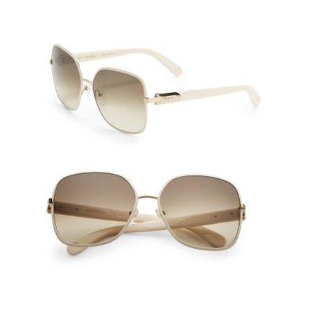 fd37ef3912e Salvatore Ferragamo - Salvatore Ferragamo Sunglasses SF150S 728 Light  Gold-Bordeaux Rectangular - Walmart.com