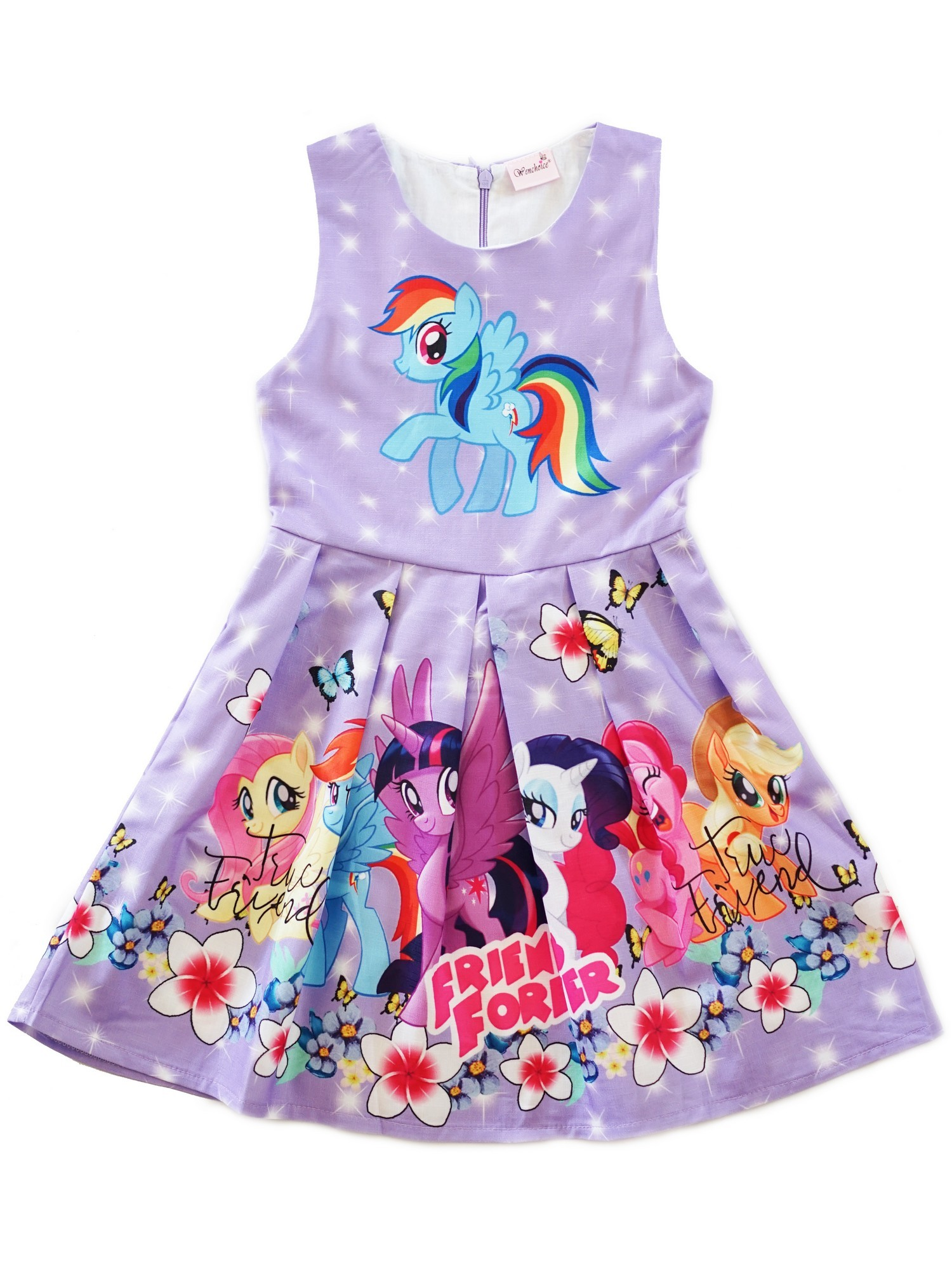 Wenchoice Girls Lavender My Little Pony Friends Forever A-Line Dress