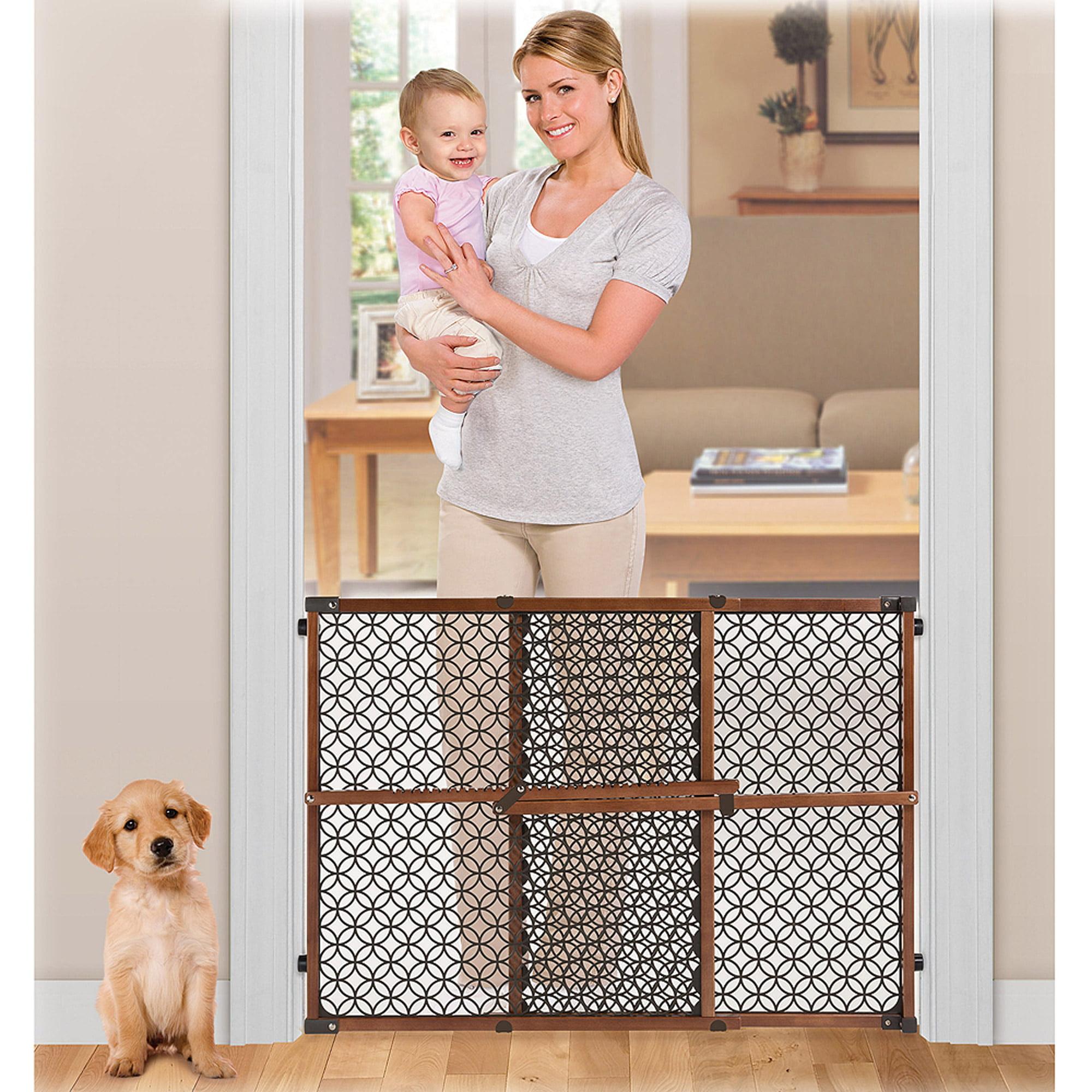 Summer Infant Secure Pressure Mount Wood And Plastic Deco Gate