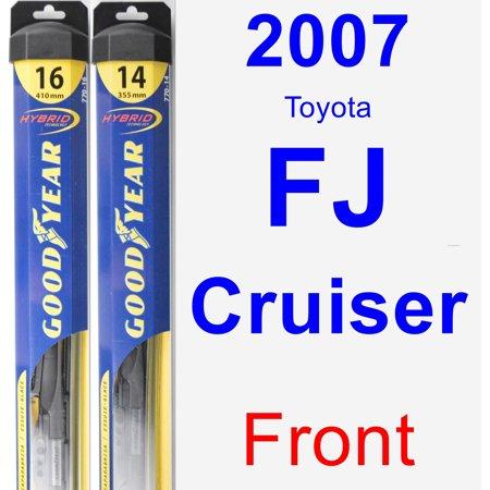 2007 Toyota FJ Cruiser Wiper Blade Set/Kit (Front) (2 Blades) -