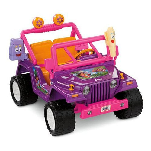 Fisher-Price Power Wheels Dora Jeep Wrangler
