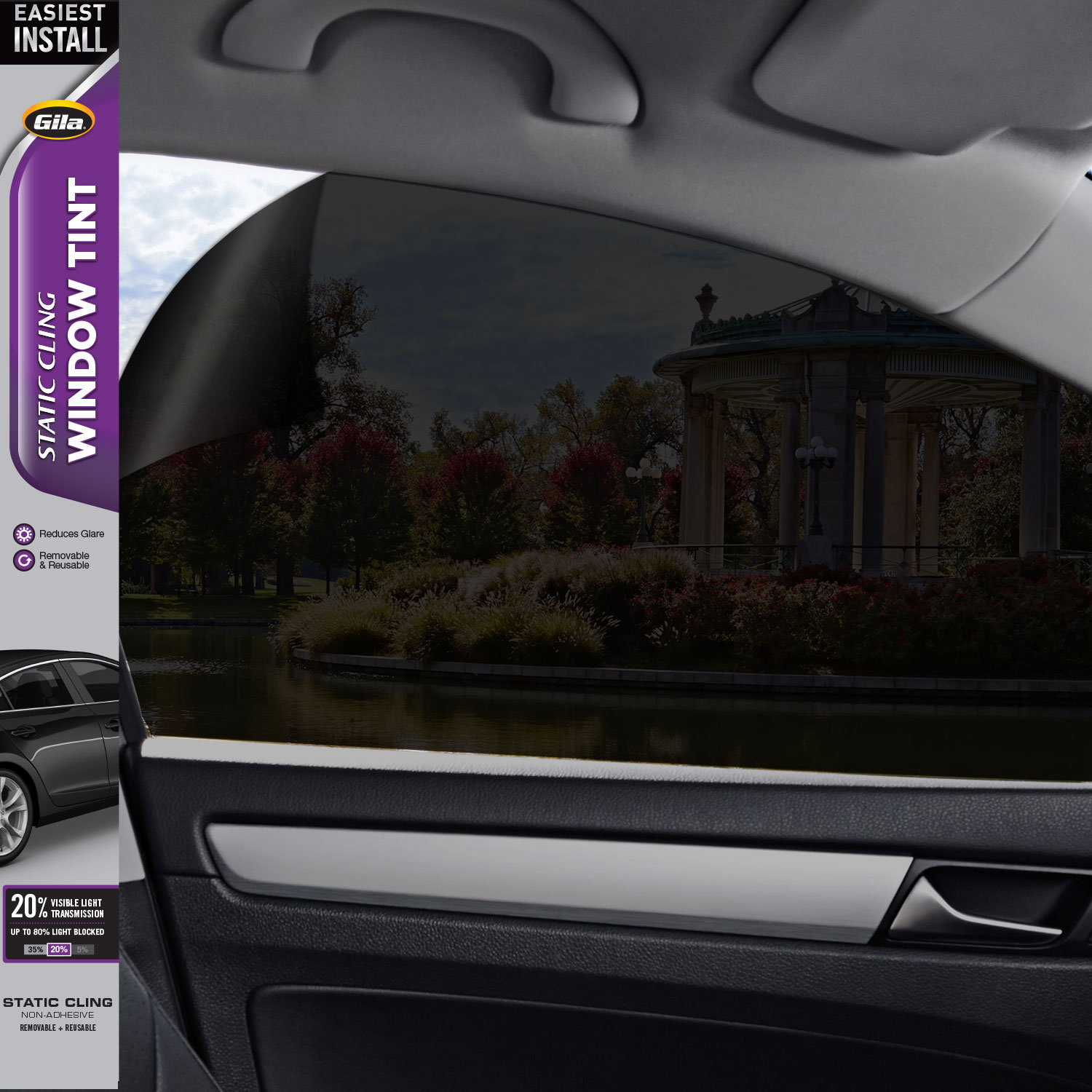 "35/% Light Color 24/"" x100/' Window Tint Film HP 2Ply HOME TRUCK AUTO VAN BOAT CAR"