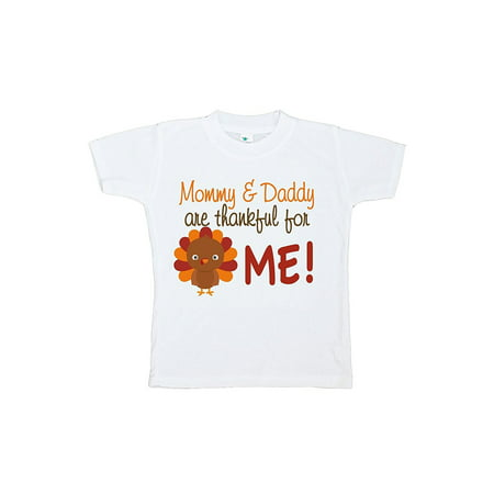 Custom Made Toddler Clothes (Custom Party Shop Baby Boy's Thankful For Me Thanksgiving Tshirt - Large (14-16))