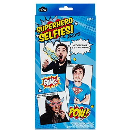 Bulk Buys KL22064 Superhero Selfie Prop Kit