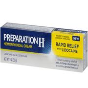 Best Hemorrhoid Creams - Preparation H Rapid Relief with Lidocaine Hemorrhoid Symptom Review