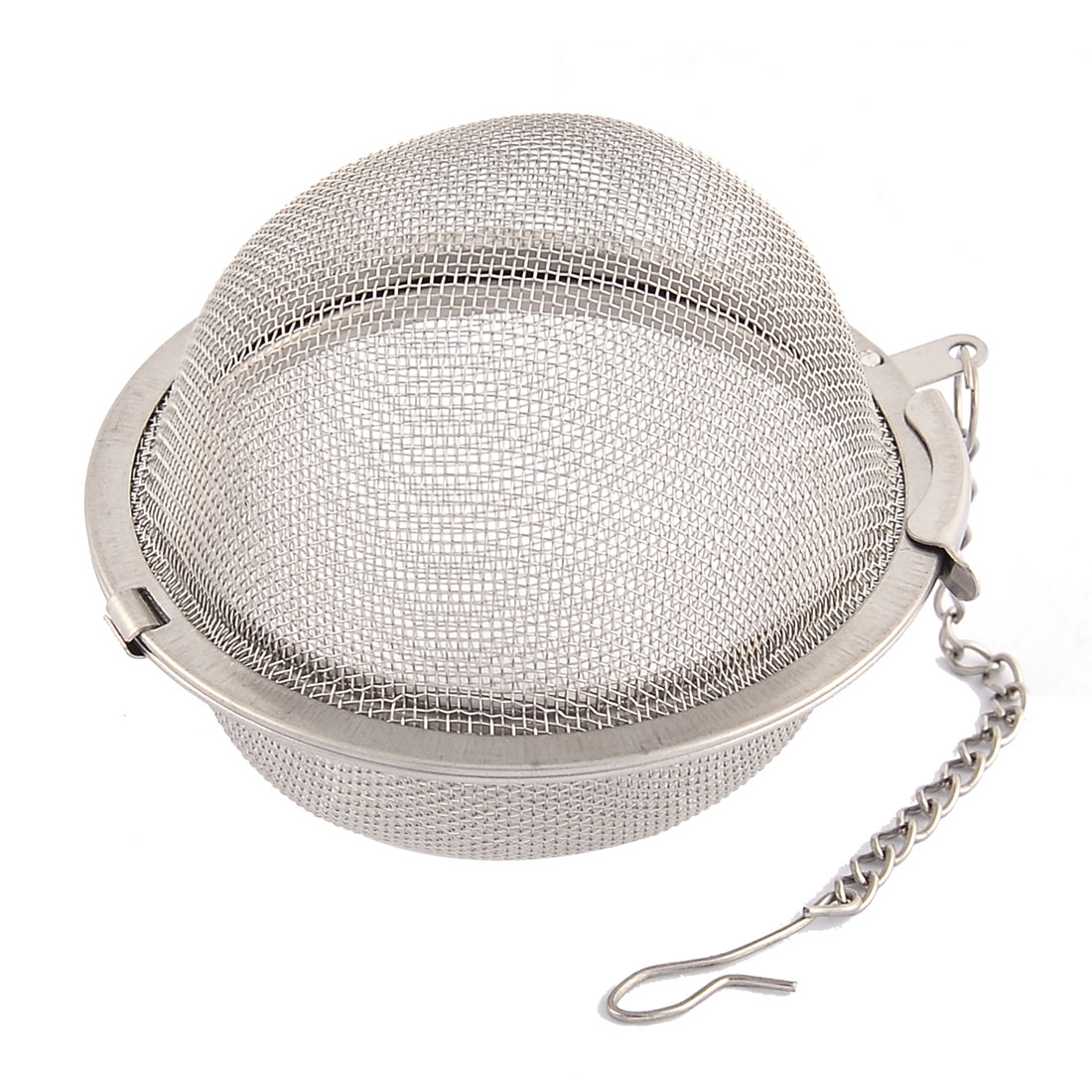 304 Stainless Steel Locking Chain Mesh Tea Ball Strainer Infuser 2.2'' Dia 2 PCS by
