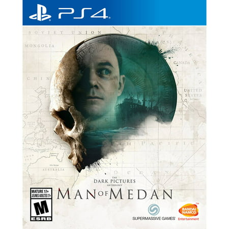 The Dark Pictures: Man of Medan, PlayStation 4, Bandai Namco, 722674122306