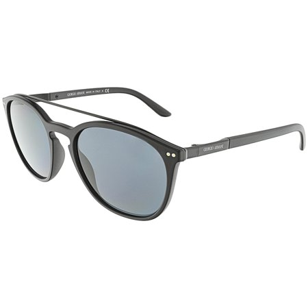 Giorgio Armani Men's AR8088-504287-53 Black Square Sunglasses