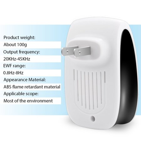 Ultrasonic Pest Reject Electronic Magnetic Repeller Anti Mosquito Insect Killer,Mosquito Repeller, Home Mosquito Repeller - image 6 of 12