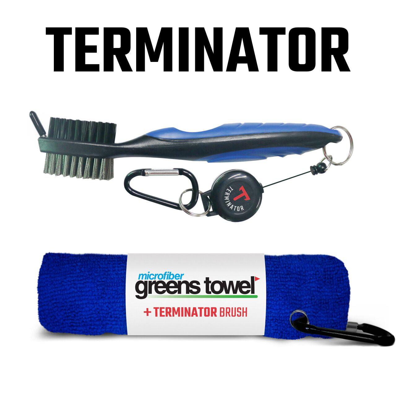 Greens Towel Plus Terminator Club Brush Black-Black