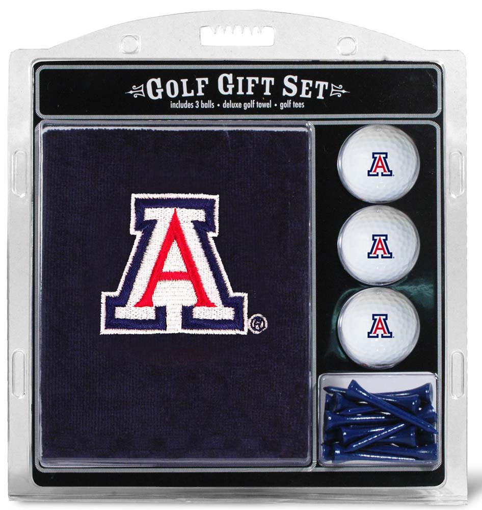 Arizona Embroidered Towel Golf Gift Set