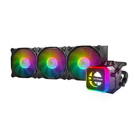 Compucase Enterprises HELOR360 Cougar Helor 360 Rgb Cpu Aluminum Cooling Kit W/ 3 Fans