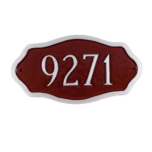 Montague Metal Products Inc. Petite Hampton Address Plaque