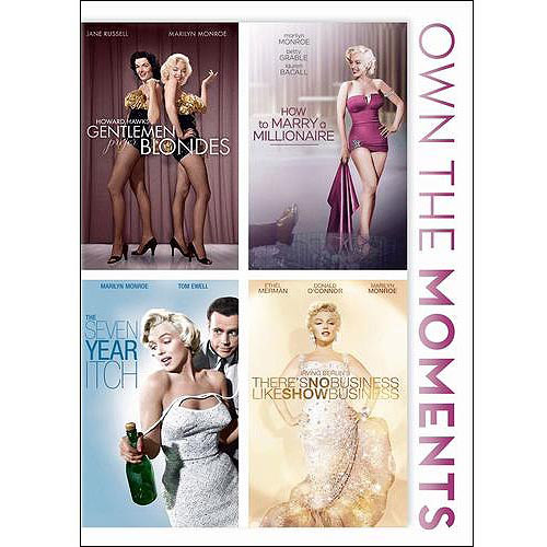 Gentlemen Prefer Blondes / How To Marry A Millionaire / The Seven Year Itch / There's No Business (Widescreen)