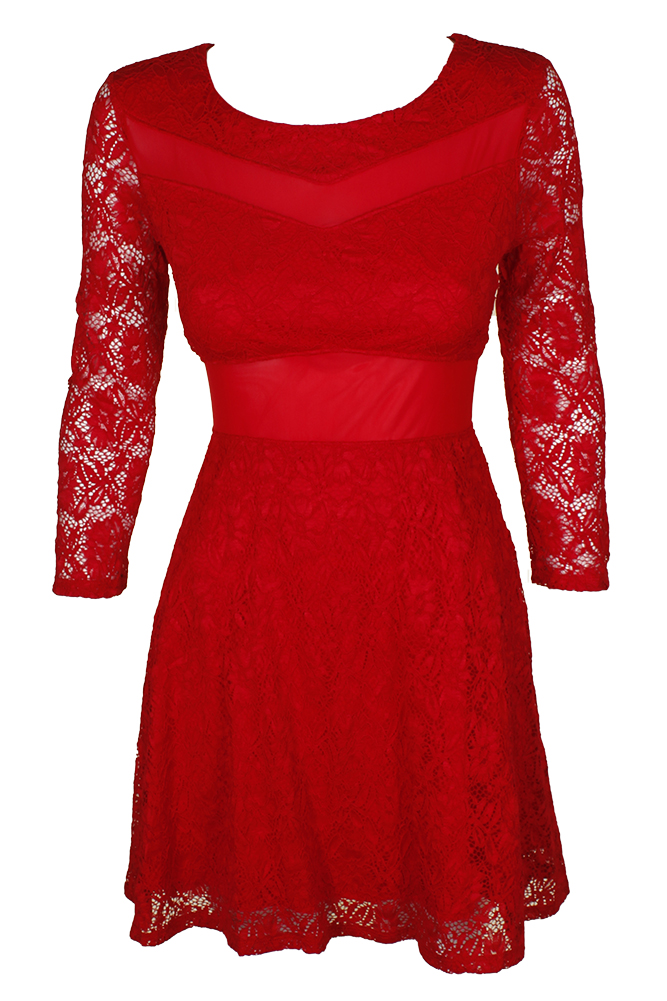 Long Red Dresses for Teenage Girls