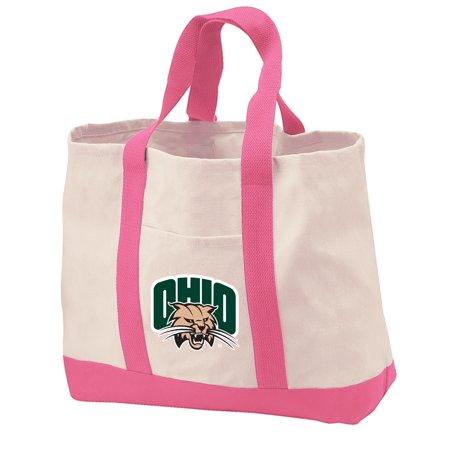 Ohio Canvas Tote (Ohio University Tote Bag CANVAS Ohio University Tote Bags for TRAVEL BEACH SHOPPING)