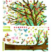 Oopsy Daisy Cherry Blossom Tree Peel and Place Wall Decal