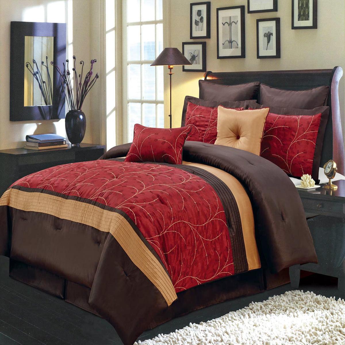 Atlantis Bed in a Bag 12-PC Bedding Set, Includes Comfort...