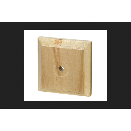 Exterior Post (Waddell Flat Exterior Post Top Pine 3-1/2 in. W x 3-1/2 in. D)