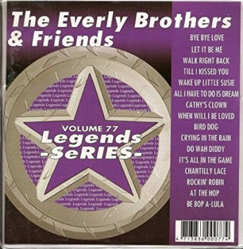 Everly Brothers N Friends Karaoke CDG by