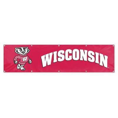 Party Animal University of Wisconsin Embroidered Party Banner (University Of Wisconsin Halloween Party)