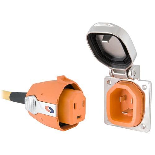 SmartPlug 30 Amp Boatside Inlet & Plug Combo Stainless Steel No Thermostat 30 Amp Boatside Inlet & Plug Combo Stainless Steel No Thermostat