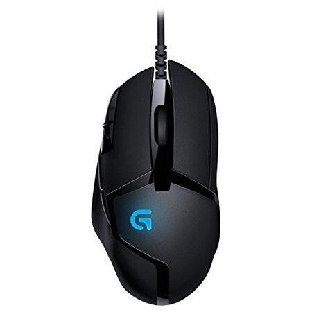 Logitech G402 Hyperion Fury FPS Gaming Mouse with High Speed Fusion Engine (910-004069) (Fps Game Mouse)