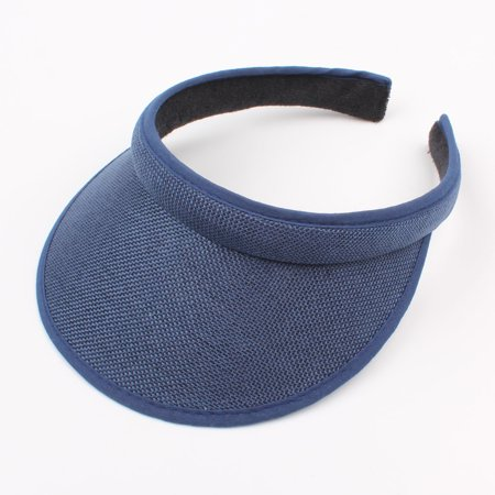 Headband Visor - Kids Summer Sun Visors Cap Empty Top Broad Wide Brim Topless Headband Children Hat Headwear