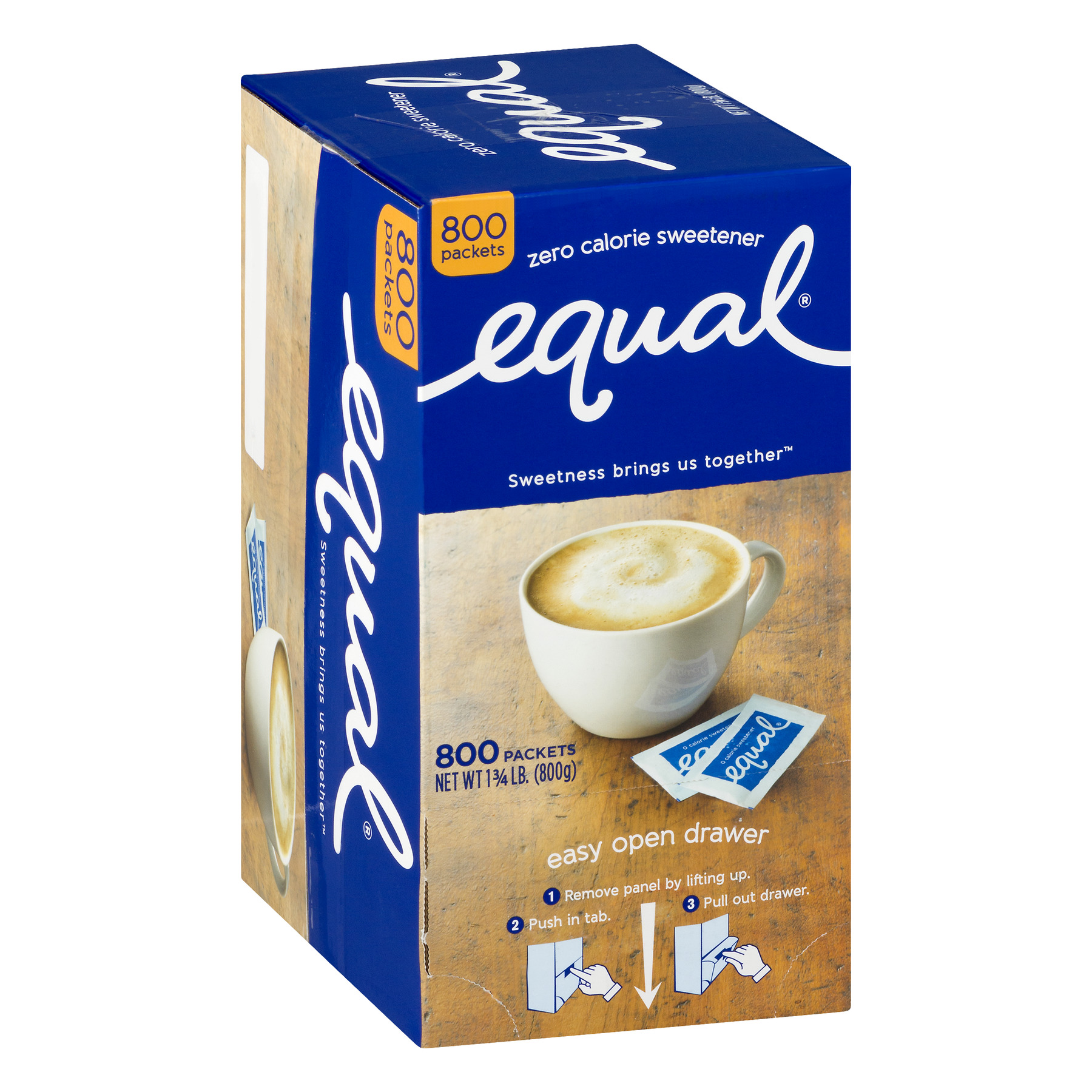 (800 Packets) Equal Sugar-Free Sweetener Packets