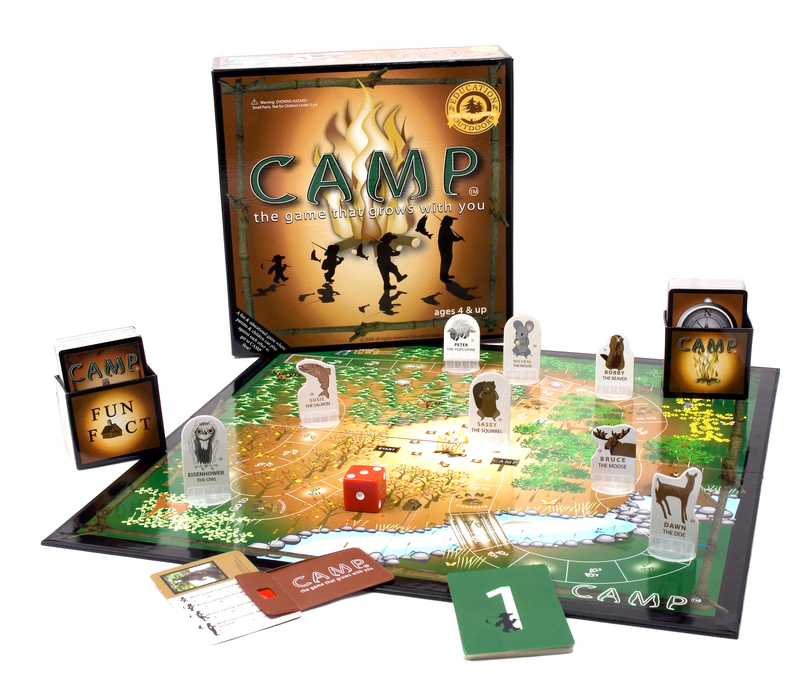 Camp Board Game by Education Outdoors