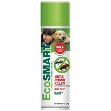 14 OZ Aerosol Organic Ant & Roach Killer Kills Ants Roaches Crickets P Only (Best Way To Kill Crickets In Home)