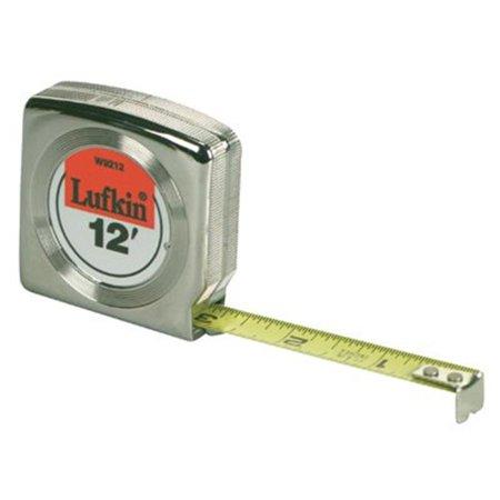 - Lufkin Mezurall Measuring Tape, 1/2in x 12ft, Yellow (LUFW9212)