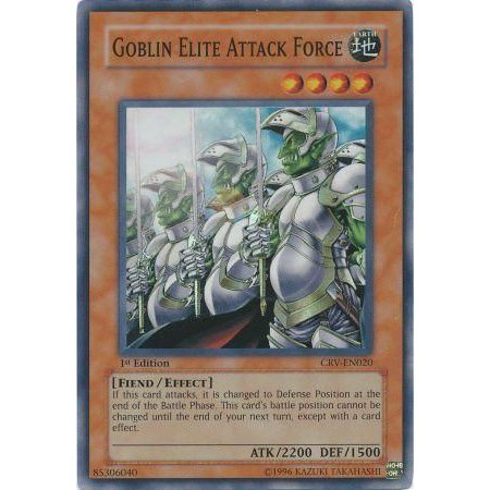 YuGiOh Cybernetic Revolution Goblin Elite Attack Force - Halloween Fart Attack Goblin Tooters